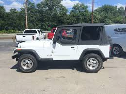 94 jeep wrangler top 94 white jeep wrangler clean southern jeep no rust top
