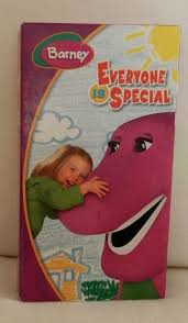 Barney Three Wishes Vhs 1989 by Barney Everyone Is Special Vhs Movie Hard To Find Vhs Movie