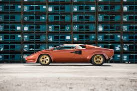 first lamborghini ever made lamborghini countach lp400s series i