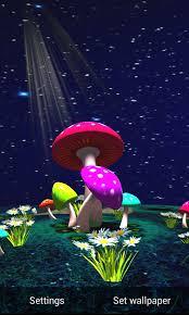 wallpaper 3d mushroom 3d mushroom live wallpaper sky 1mobile com