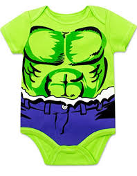 amazon marvel baby boys u0027 5 pack bodysuits hulk