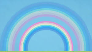 what shape are rainbows and how do double rainbows form youtube