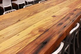 Pine Table Rustic Heart Pine Table Top Sir Belly
