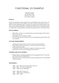 sample of a functional resume 22 functional resume format format