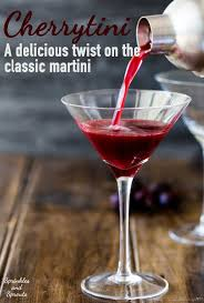 martini bacardi cherrytini sprinkles and sprouts