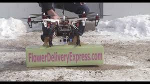 Flowers In Detroit - flower delivery express delivers flowers by drone youtube