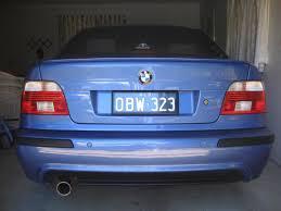 bmw e39 rear bmw 5 e39 rear