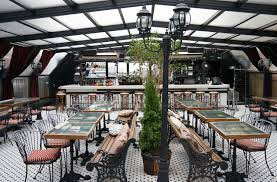 hotel chantelle french rooftop les nyc to eat pinterest