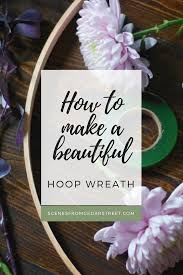How To Make A Spring Wreath by Blog Post