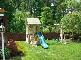 Backyard Play Structure by Backyard Playground Custom Wooden Swing Sets U0026 Playsets In