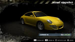 porsche carrera 911 4s porsche 911 carrera 4s 997 need for speed wiki fandom