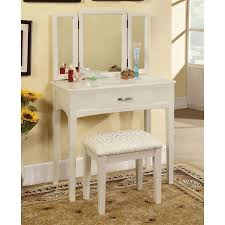 Unfinished Wood Vanity Table Makeup Vanity Set With Lights Unfinished Wood Vanity Table