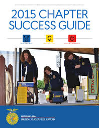 2015 chapter success guide by national ffa organization issuu