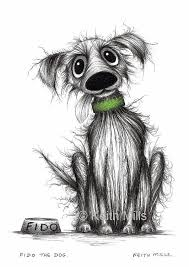 138 dogs art keith mills images dog art