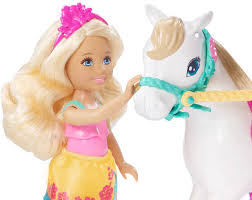 barbie chelsea doll u0026 pony playset target