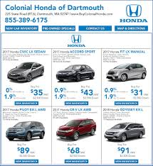 lease a honda civic honda lease deals special offers in massachusetts colonial
