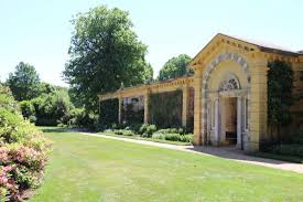 inside the walled garden picture of osborne house east cowes