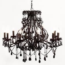Black Chandelier Lighting by Black Chandelier Amazing Home Design