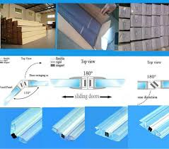 Shower Seals For Glass Doors Shower Glass Door Seal Handballtunisie Org