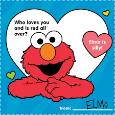 elmo valentines elmo on happy s day elmo you