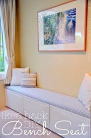 ikea bench ideas built in window seat bench from ikea cabinets build me pinterest