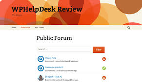 What Does It Help Desk Do Wphelpdesk Your Wordpress Ticketing System Wp Mayor