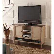Martin Furniture Baldwin Deluxe TV Console In Antique Powder White - Baldwin furniture