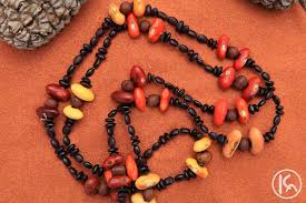 seed necklace images Ininti seed necklace by leonie campbell from alice springs jpg