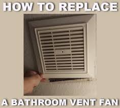 how to replace a bathroom ceiling fan how to replace a noisy or broken bathroom vent exhaust fan