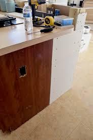 adding a kitchen island diy breakfast bar frame built to an existing kitchen island