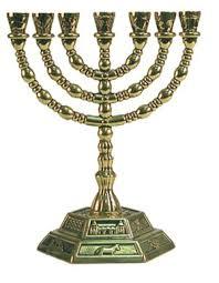 candeliere ebraico menorah il mistero candelabro a 7 braccia degli ebrei