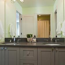 Grey Quartz Countertops Design Ideas - Bathroom vanities with quartz countertops