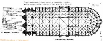 Cathedral Floor Plan Floor Plan Showing Both The Previous Cathedral St Etienne And