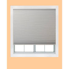 shop redi shade 60 in w x 72 in l white blackout cordless