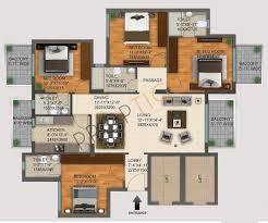 dlf regal garden 2215 floor plan 6 jpg