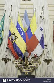 Latin American Flags Latin American Flags With Scales Of Justice In Church Culture And