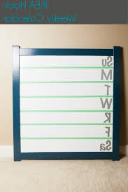home design ikea hack the spontan magnetic board painted and