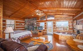 open floor plan cabins kear s nest gatlinburg log cabin in gatlinburg tn