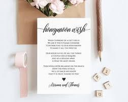 wedding wishes honeymoon wedding wishing well etsy