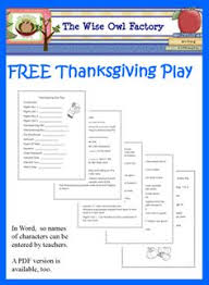 thanksgiving play interactive pilgrim story k 2nd social