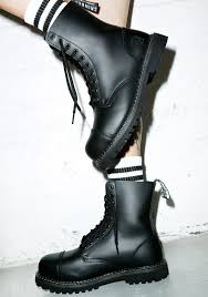 high end motorcycle boots grinders stag boots dolls kill