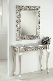 Mirror Console Table Ornate Console Table And Mirror Console Table Ideal For Ornate