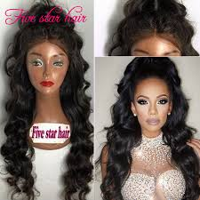 online shop 2016 sale full lace human hair wigs for black