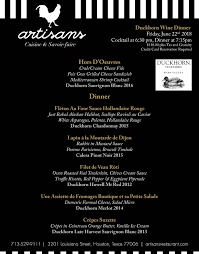 art of the table reservations special events artisans restaurant