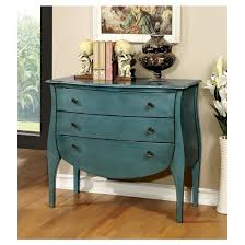 sun u0026 pine jenna french country 3 drawer hallway table blue target