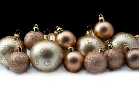 collection of gold baubles 6359 stockarch free stock