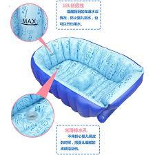 si e de baignoire enfants bébé baigné baignoire épaissie gonflable de portable