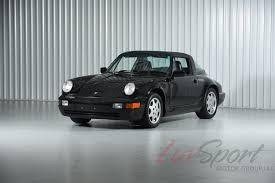 1990 porsche 911 turbo 1990 porsche 964 carrera 2 targa black black 5 speed 100 original