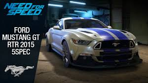 mustang gt rtr need for speed 2015 mustang gt rtr 5spec 2015