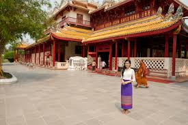 bang pa in summer palace in ayutthaya learn thai with mod